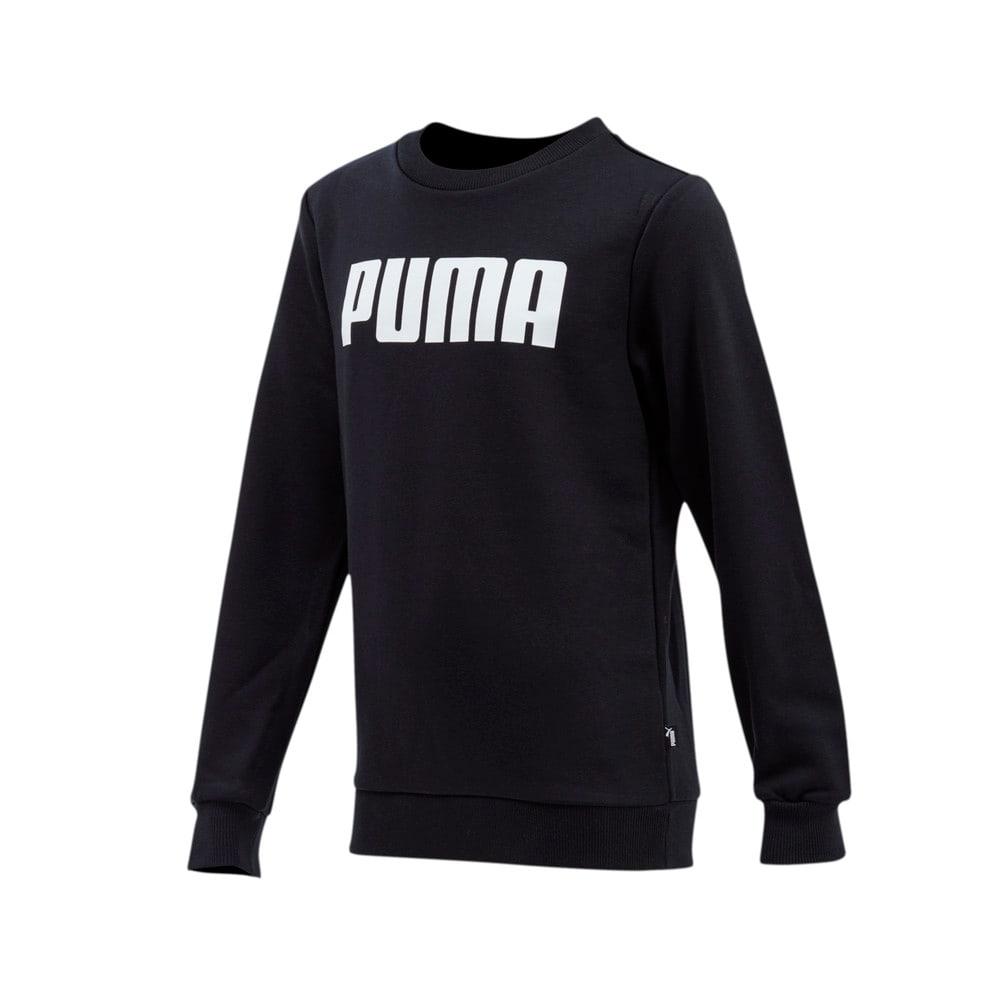Изображение Puma Детская толстовка Boys ESS PUMA Crew Sweat FL #1