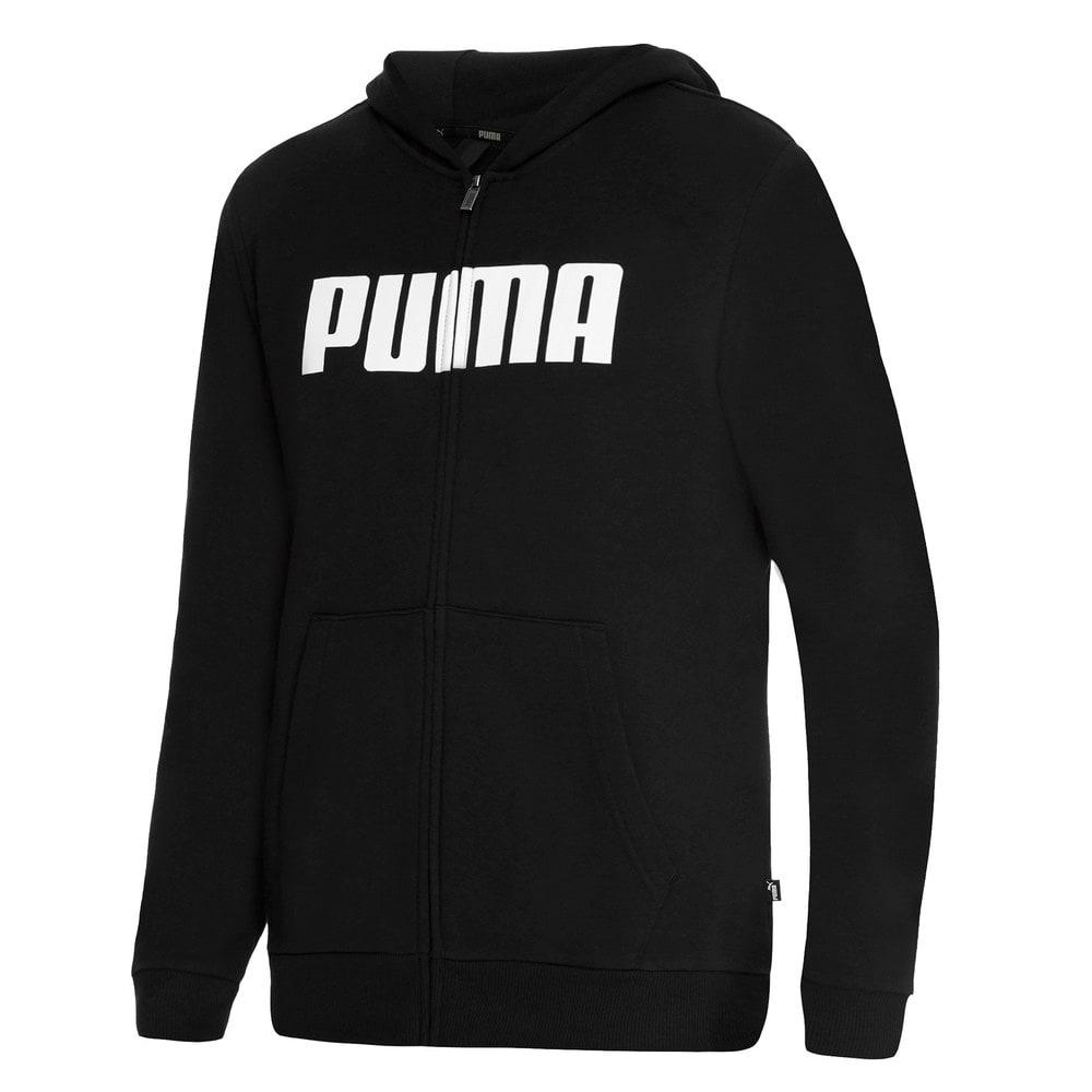 Изображение Puma Толстовка Essentials Boys Full Zip Hoodie #1