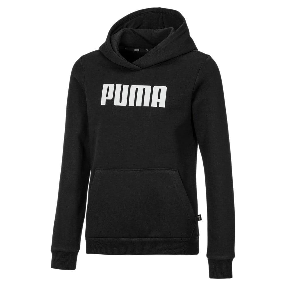 Imagen PUMA Polerón de tejido polar con capucha para niñas Essentials #1