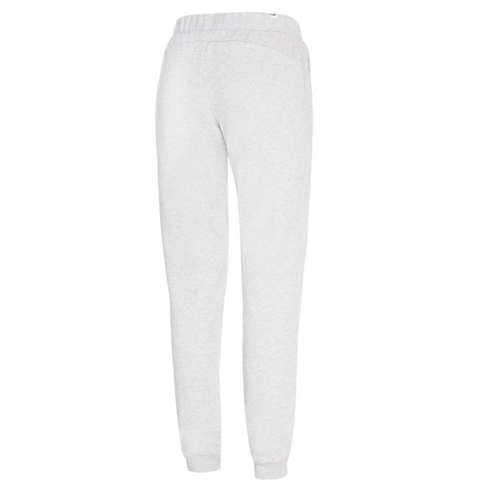 Изображение Puma Штаны Essentials Cuffed Fleece Girls' Sweatpants #2