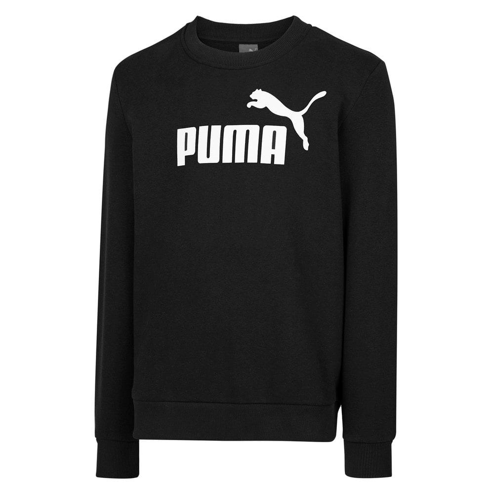 Görüntü Puma PUMA Logo Bisiklet Yaka Erkek Sweatshirt #1