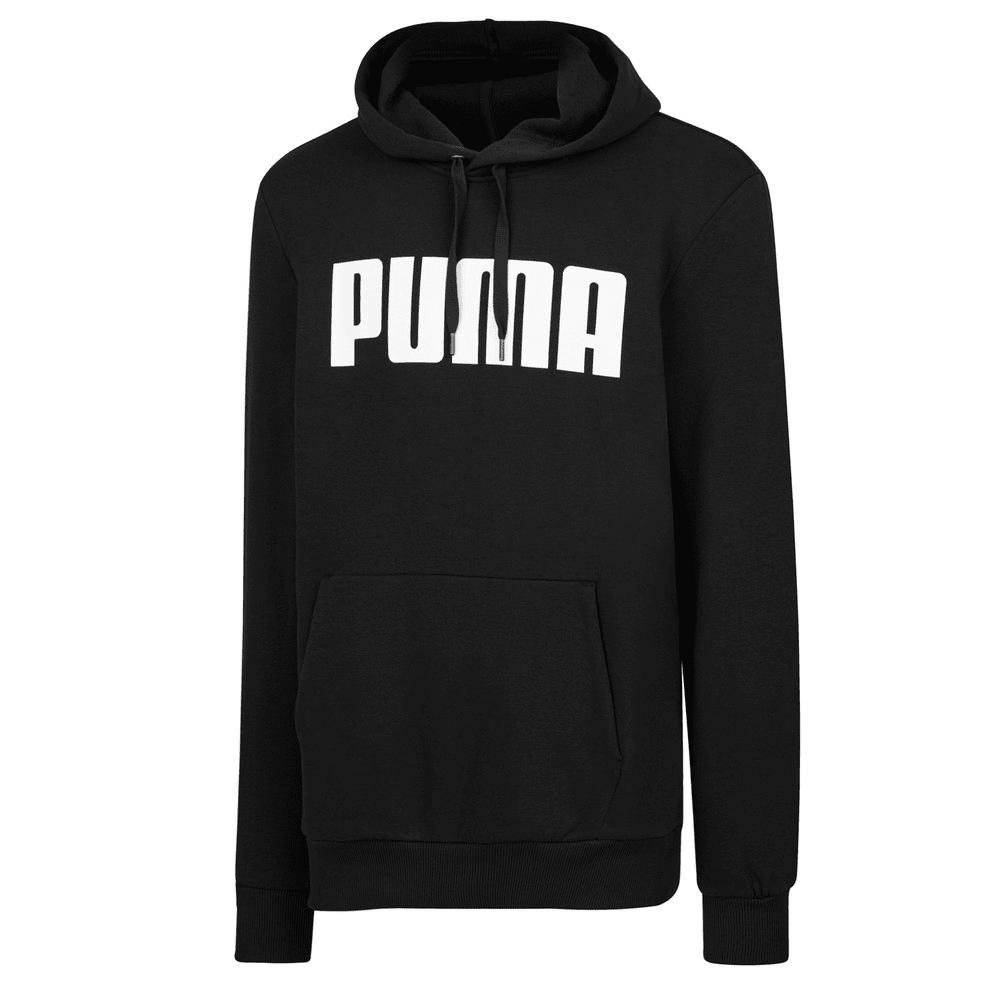 Görüntü Puma PUMA Logo Kapüşonlu Erkek Sweatshirt #1