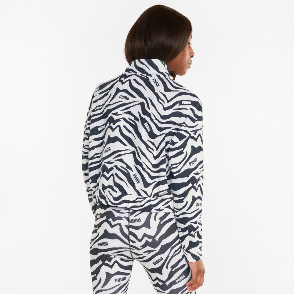 Görüntü Puma Modern Sports Baskılı Kadın Ceket #2