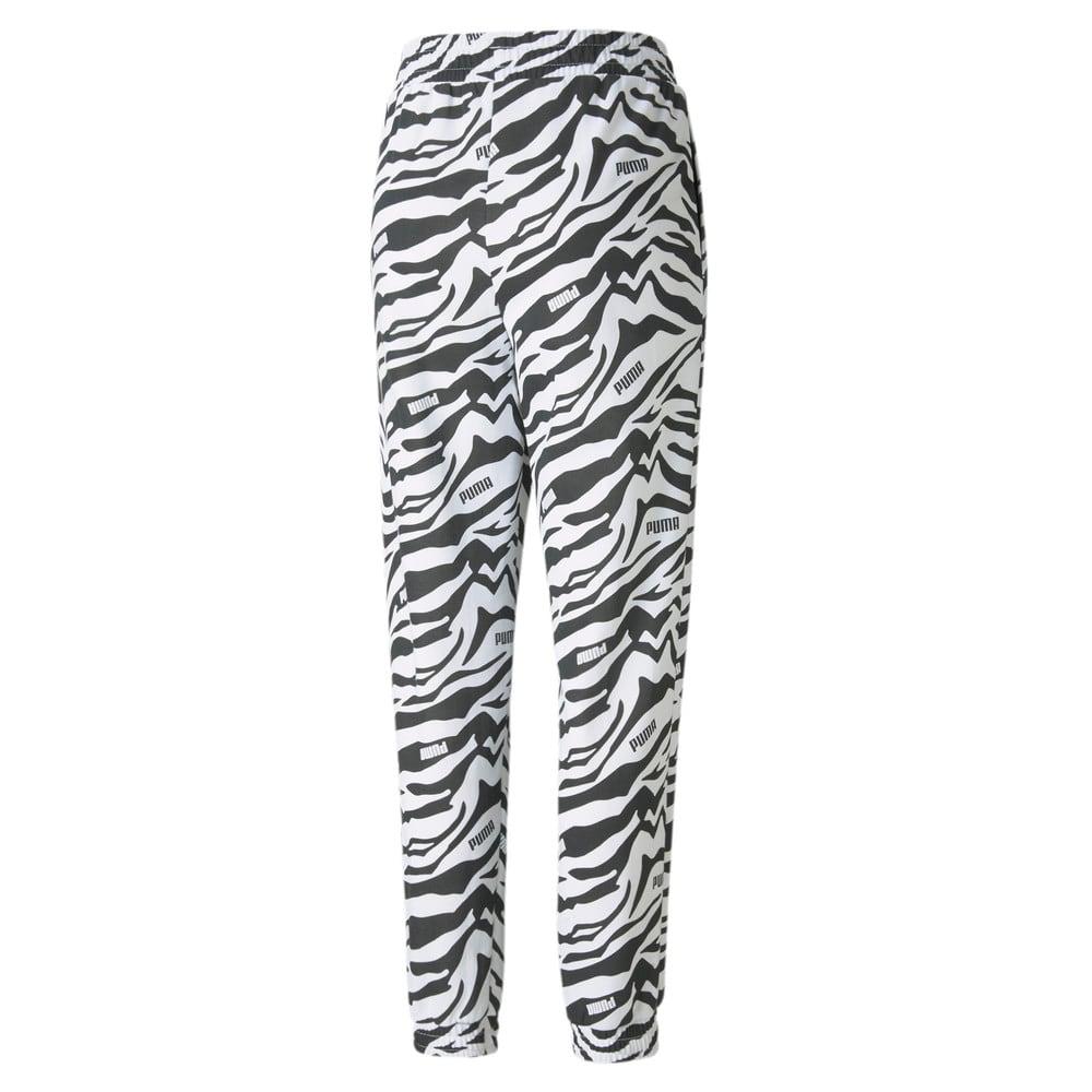 Görüntü Puma Modern Sports Baskılı Kadın Pantolon #2