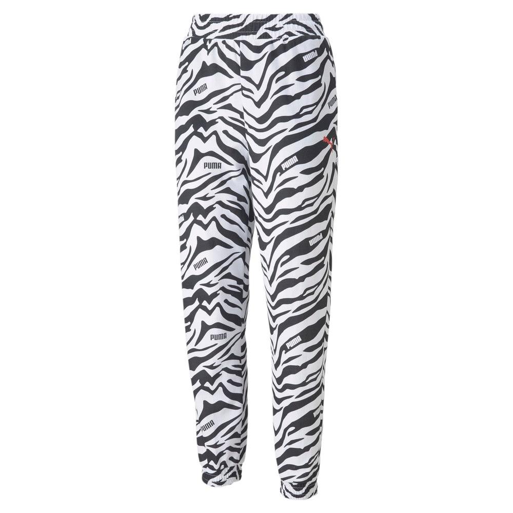Görüntü Puma Modern Sports Baskılı Kadın Pantolon #1