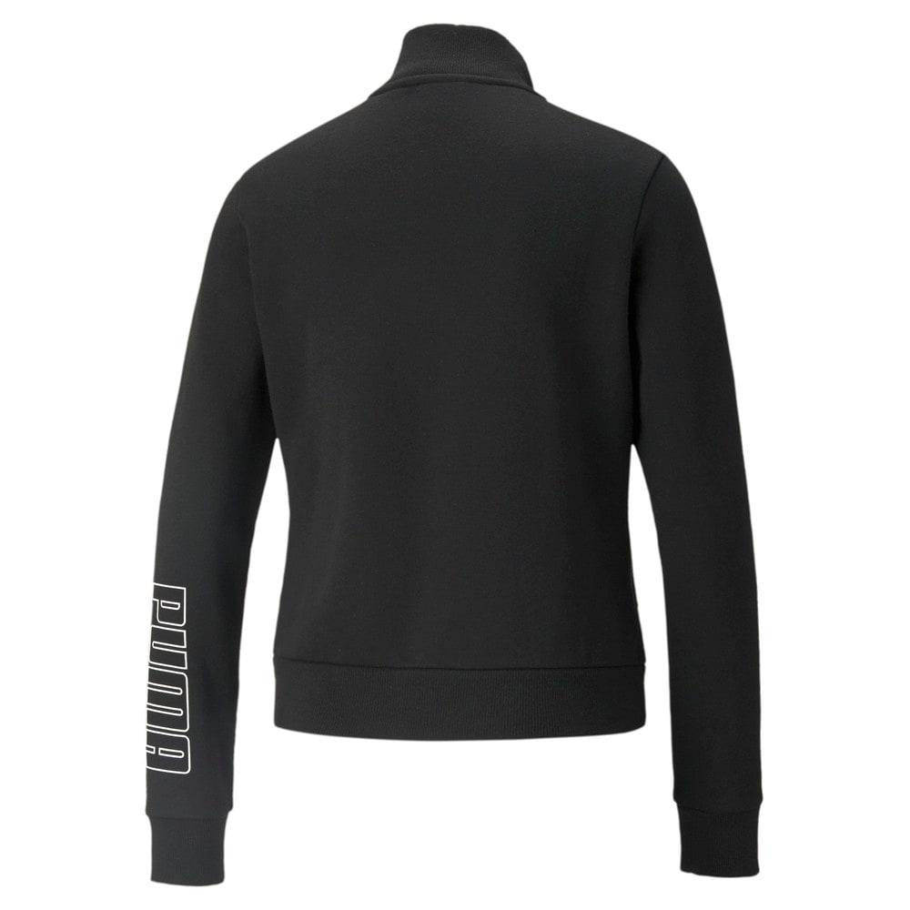 Зображення Puma Олімпійка Power Logo Women's Track Jacket #2: Puma Black