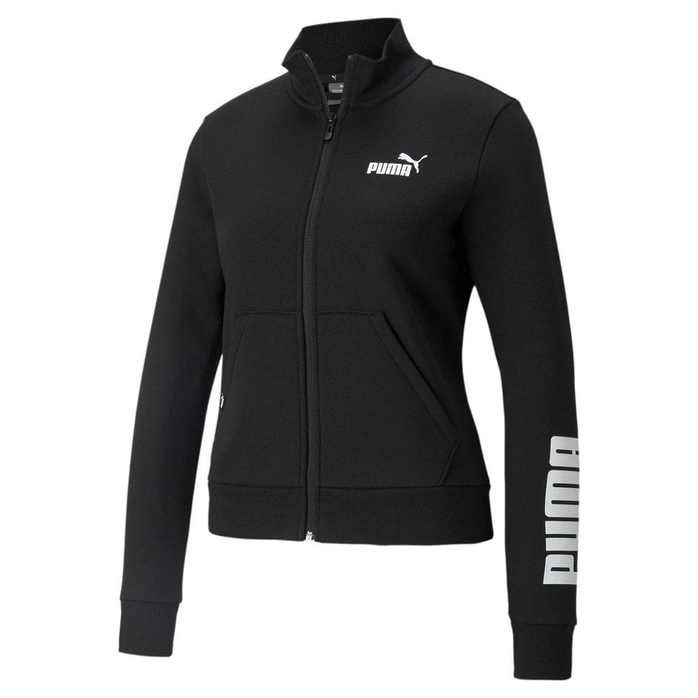 Зображення Puma Олімпійка Power Logo Women's Track Jacket #1: Puma Black