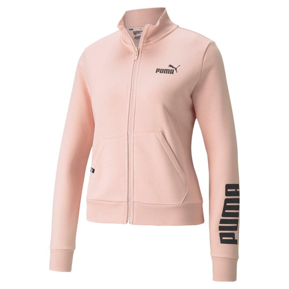 Изображение Puma Олимпийка Power Logo Women's Track Jacket #1