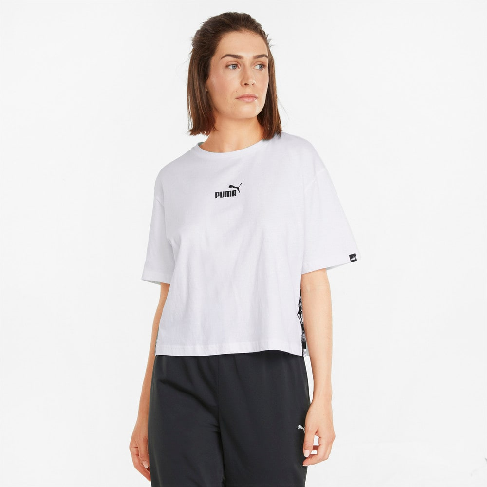 Зображення Puma Футболка Power Cropped Women's Tee #1: Puma White
