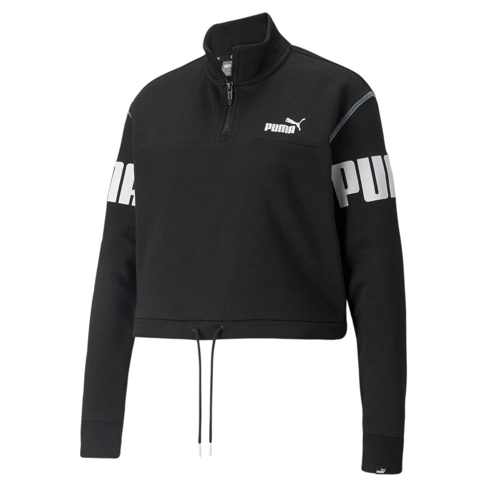 Image Puma Power Half-Zip Women's Sweatshirt<br /> #1