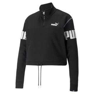 Image Puma Power Half-Zip Women's Sweatshirt<br />