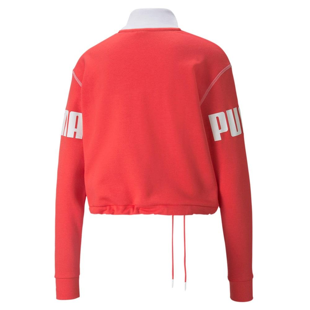 Görüntü Puma Power Yarım Fermuarlı Kadın Sweatshirt #2