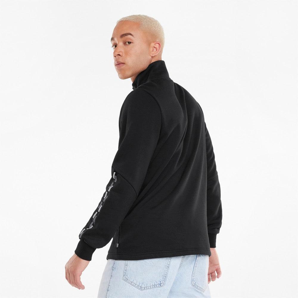 Зображення Puma Толстовка Power Half-Zip Men's Sweatshirt #2: Puma Black