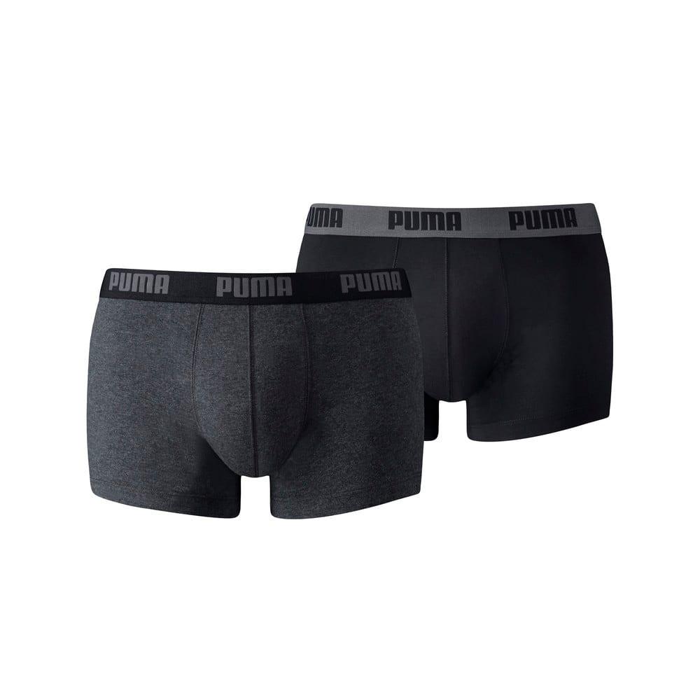Изображение Puma Мужское нижнее белье 2 Pack Boxer Shorts #1