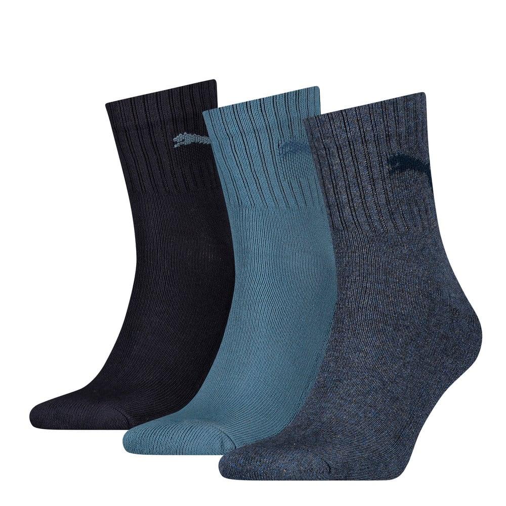Изображение Puma Носки Unisex Short Crew Socks (3 Pack) #1: denim blue