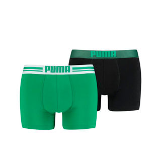 Изображение Puma Мужское нижнее белье Placed Logo Boxer Shorts 2 Pack