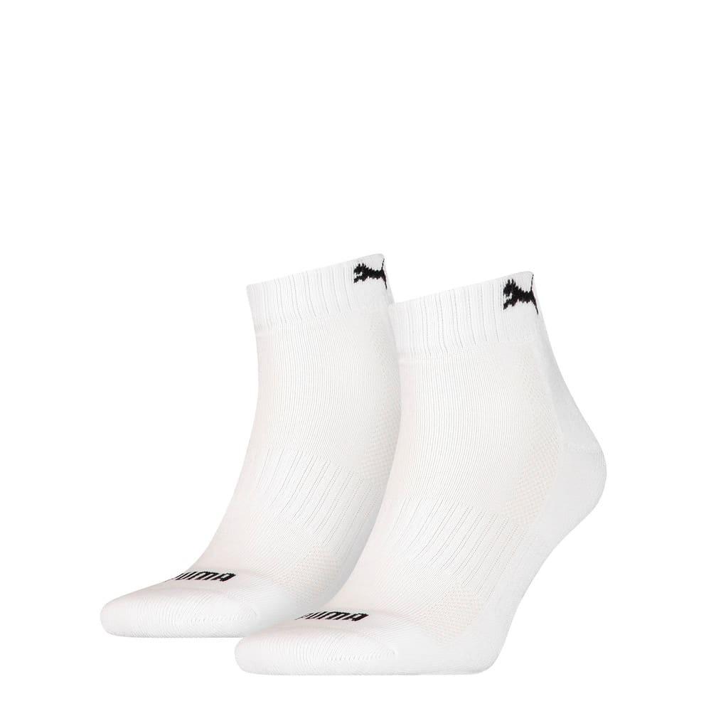 Görüntü Puma CUSHIONED Quarter Çorap (2'li Paket) #1