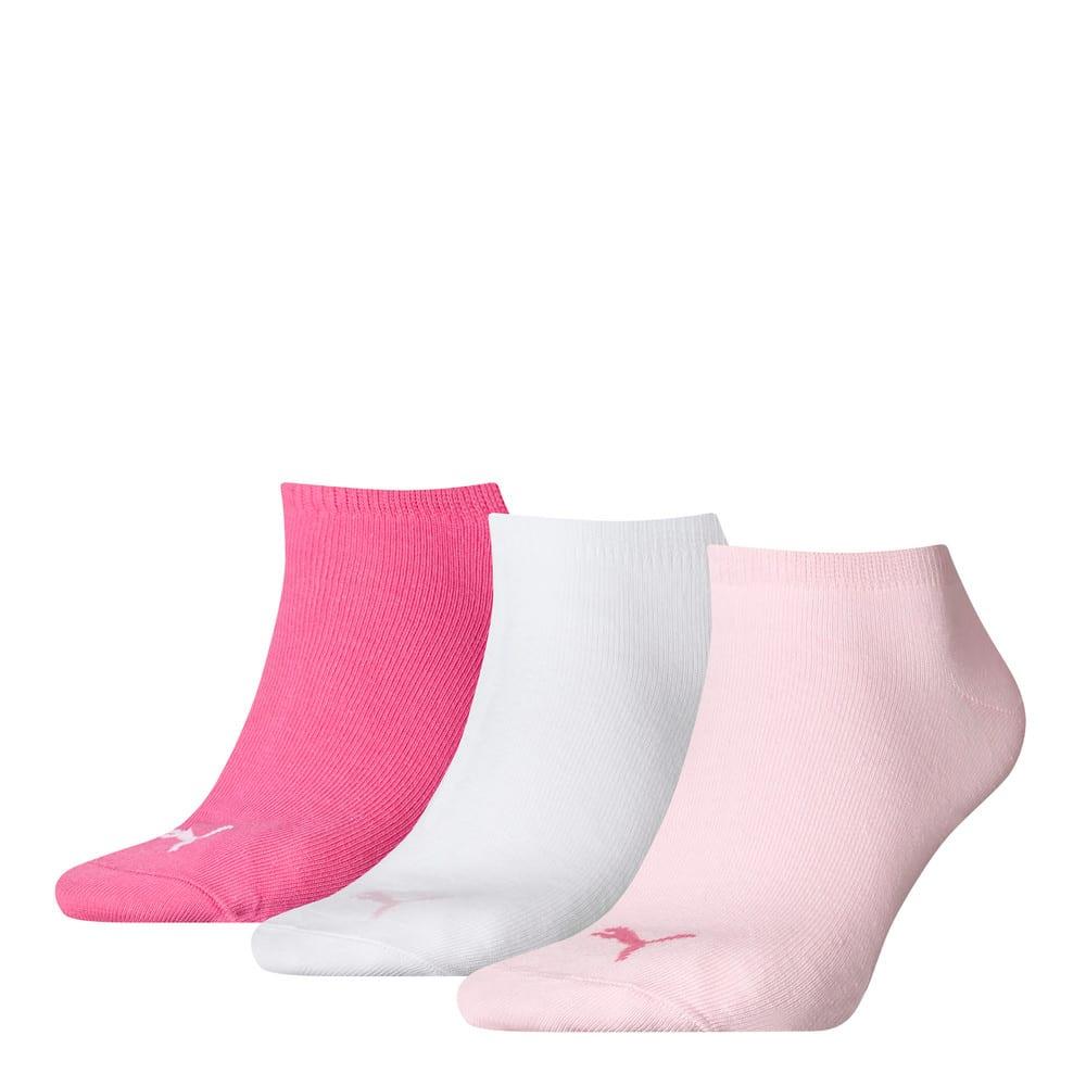 Изображение Puma Носки PUMA UNISEX SNEAKER PLAIN 3P #1: pink lady