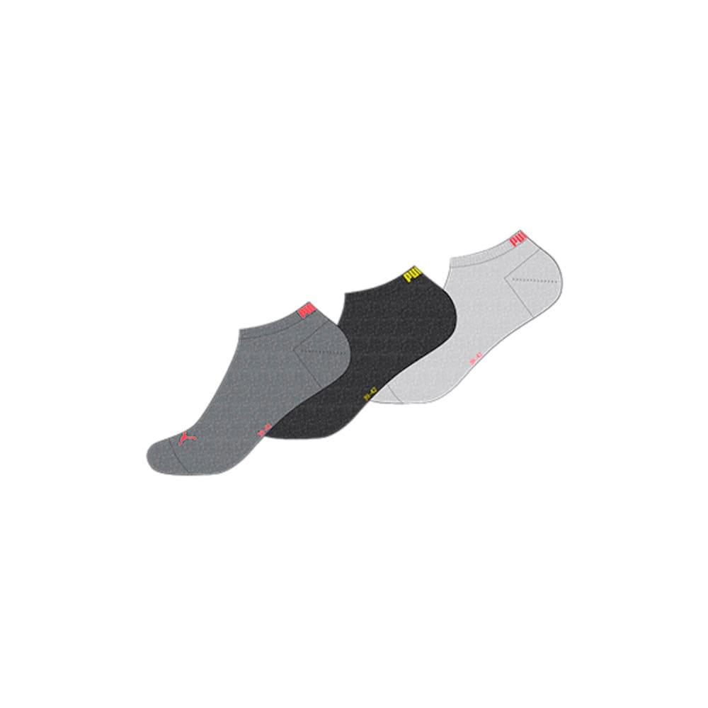 Зображення Puma Шкарпетки PUMA UNISEX SNEAKER PLAIN 3P #1: dark grey melange