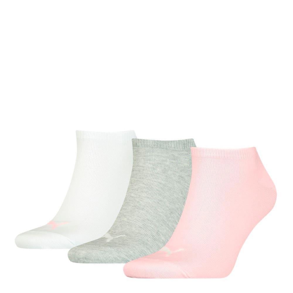 Изображение Puma Носки PUMA UNISEX SNEAKER PLAIN 3P #1: light pink grey combo
