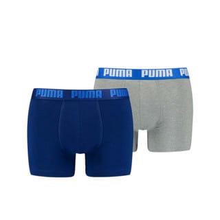 Изображение Puma Мужское нижнее белье PUMA Basic Boxer 2P