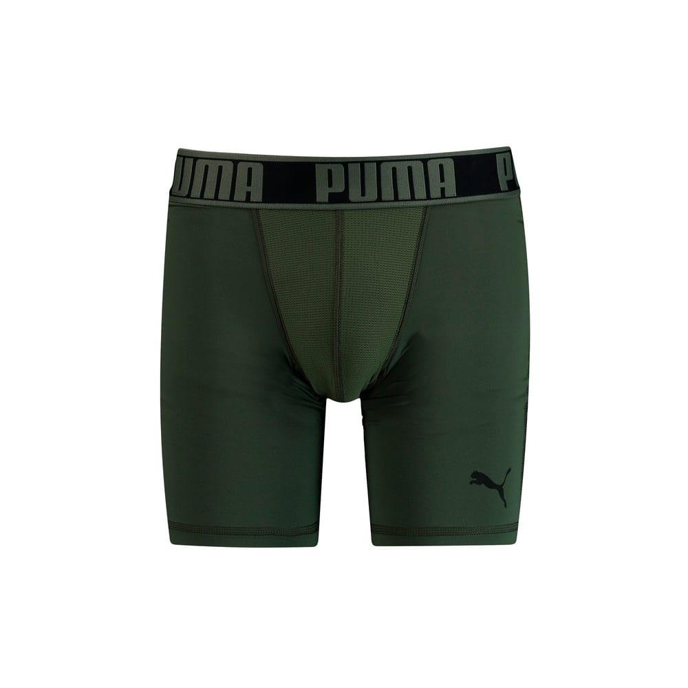 Изображение Puma Мужское нижнее белье PUMA Active Long Boxer 2P PA #1