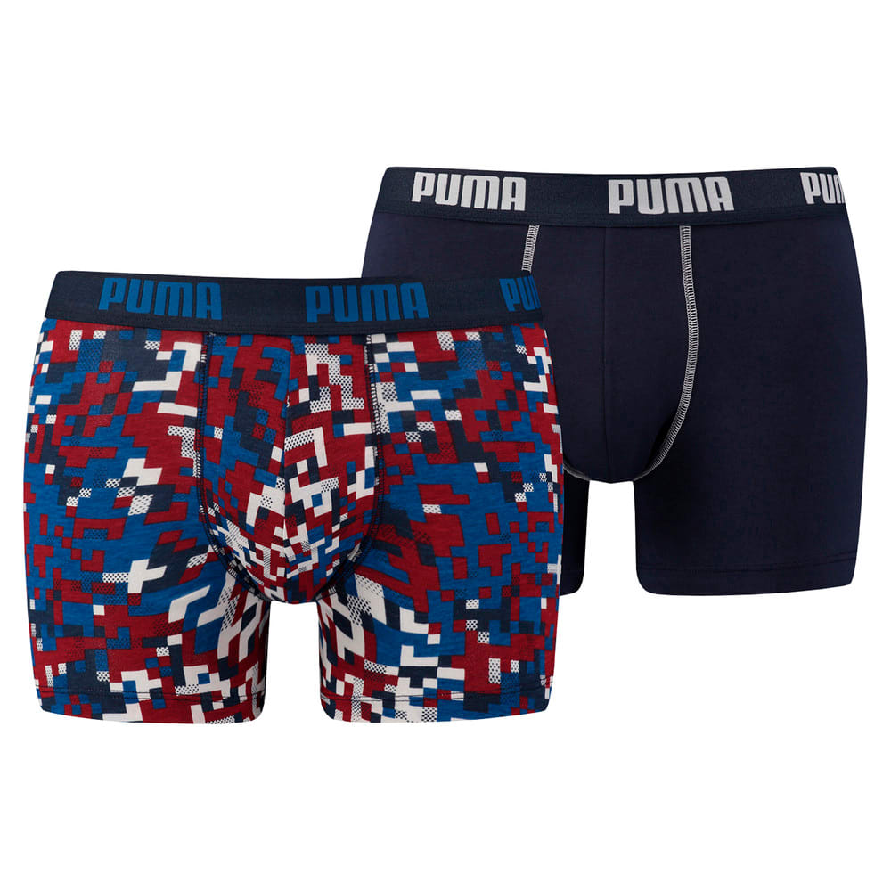 Görüntü Puma BLOCKING PRINT Erkek Boxer (2'li Paket) #1