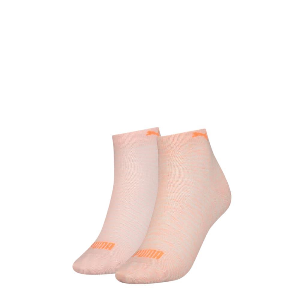 Imagen PUMA Calcetines cortos PUMA para mujer (paquete de 2) #1