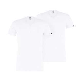 Зображення Puma Футболка PUMA Basic Men's V-Neck T-Shirt (2 Pack)