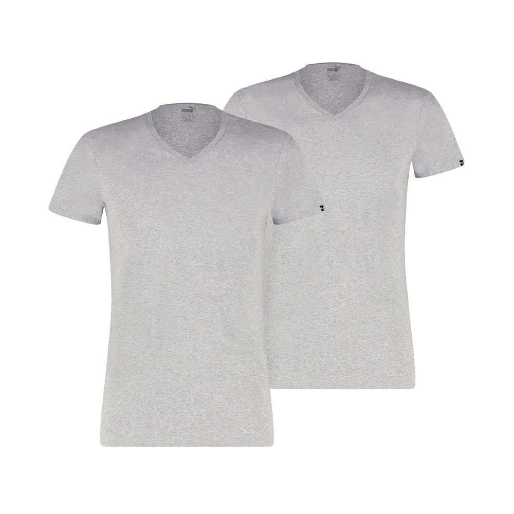 Изображение Puma Футболка PUMA Basic Men's V-Neck T-Shirt (2 Pack) #1