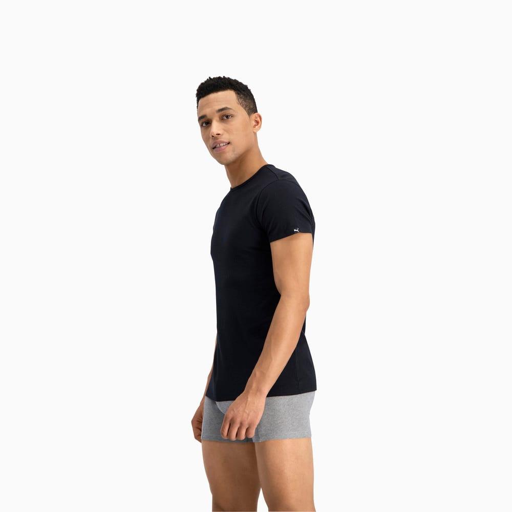 Изображение Puma Футболка PUMA Basic Men's Crew Neck T-Shirt (2 Pack) #2