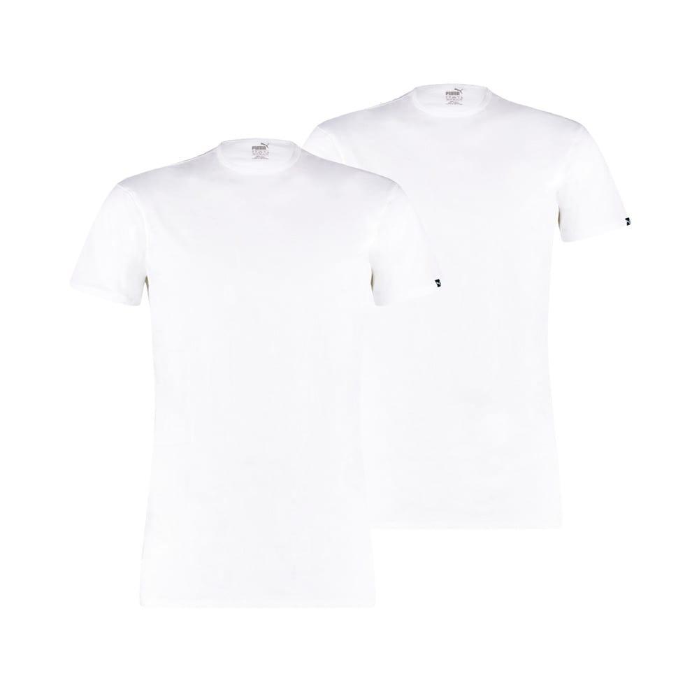 Зображення Puma Футболка PUMA Basic Men's Crew Neck T-Shirt (2 Pack) #1