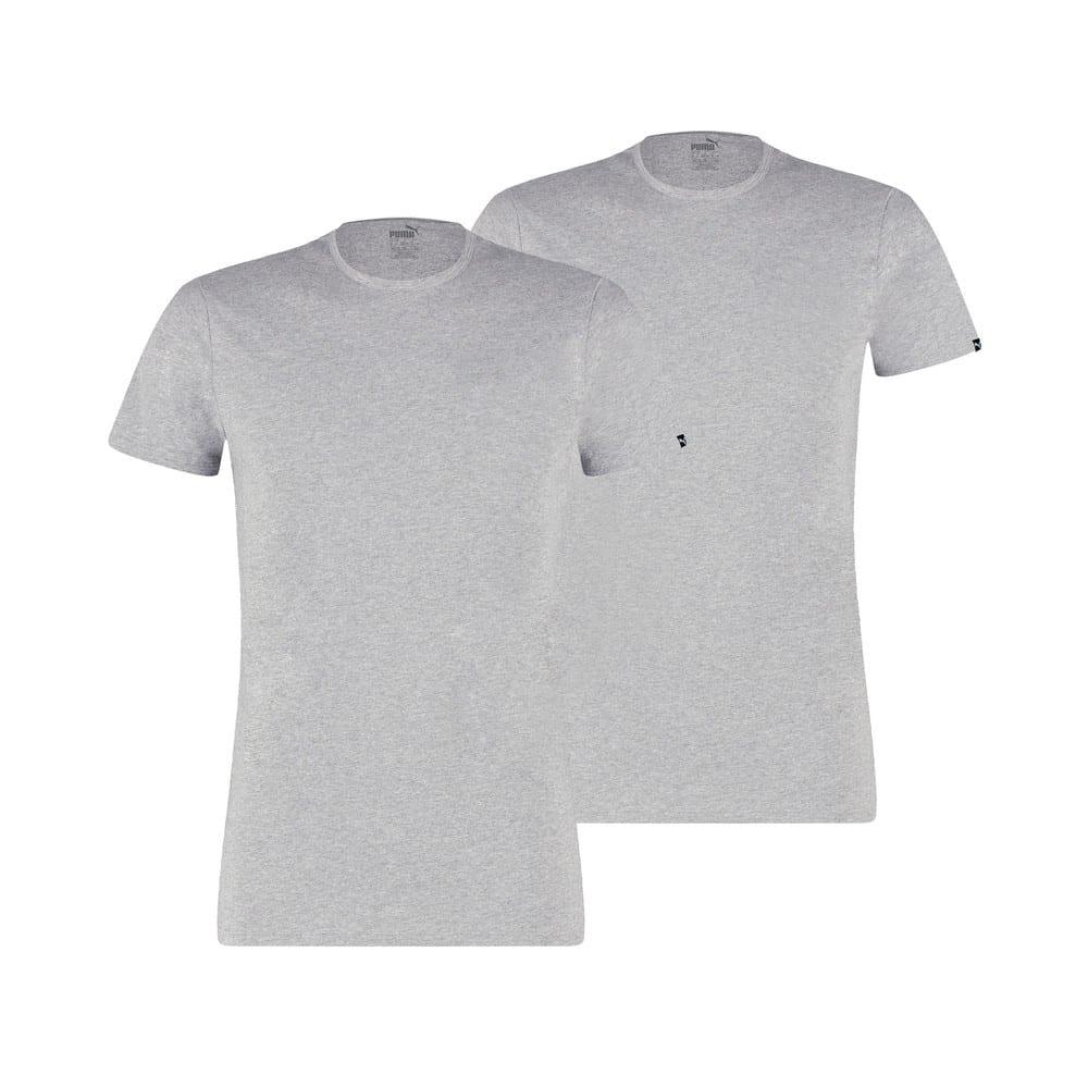 Изображение Puma Футболка PUMA Basic Men's Crew Neck T-Shirt (2 Pack) #1