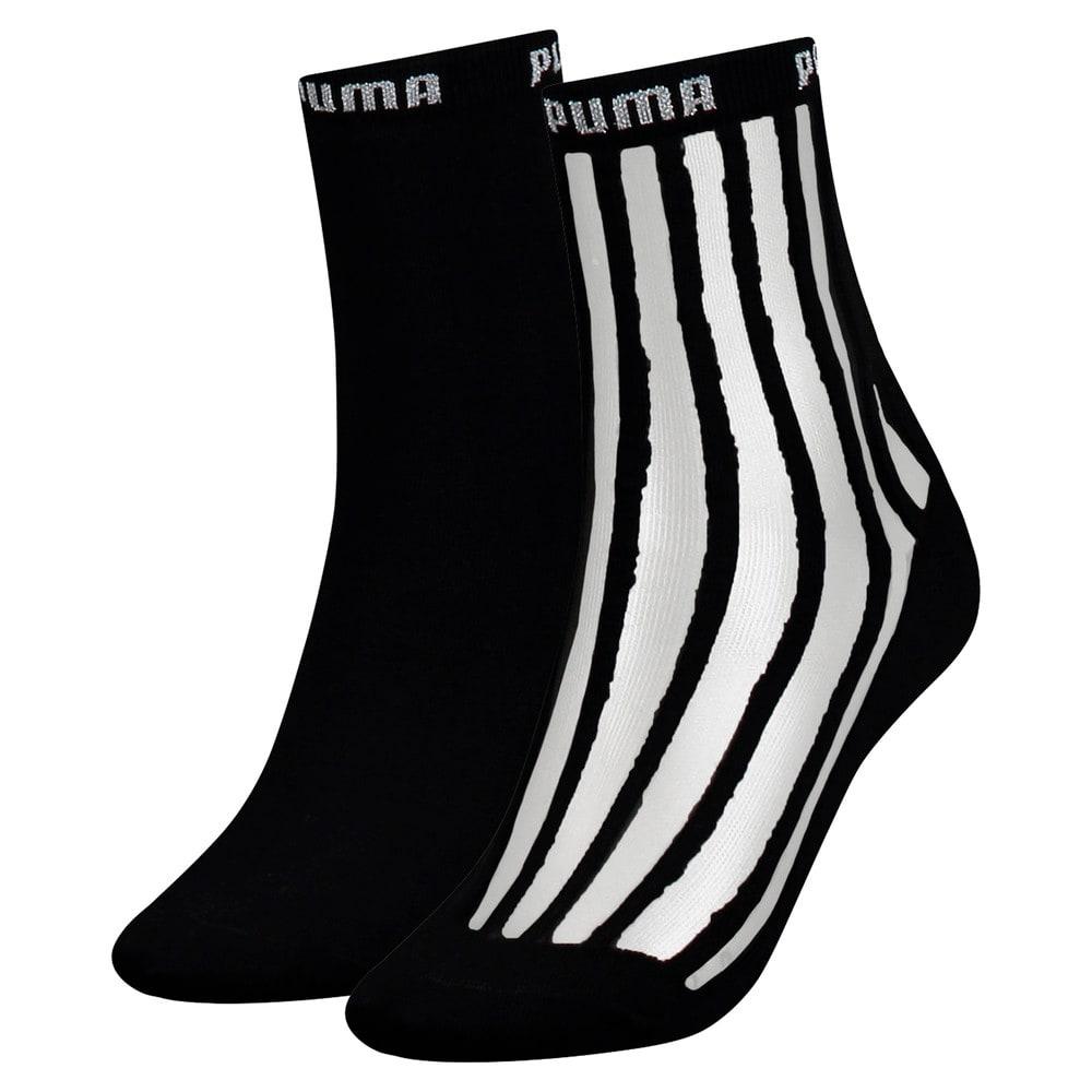 Imagen PUMA Calcetines cortos transparentes Stripe 2 pack #1