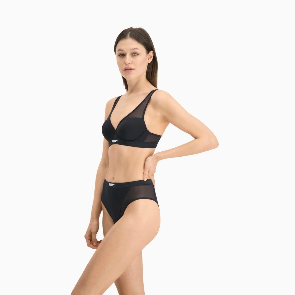 Зображення Puma Жіноча спідня білизна PUMA High Leg Brazilian 1P P #2