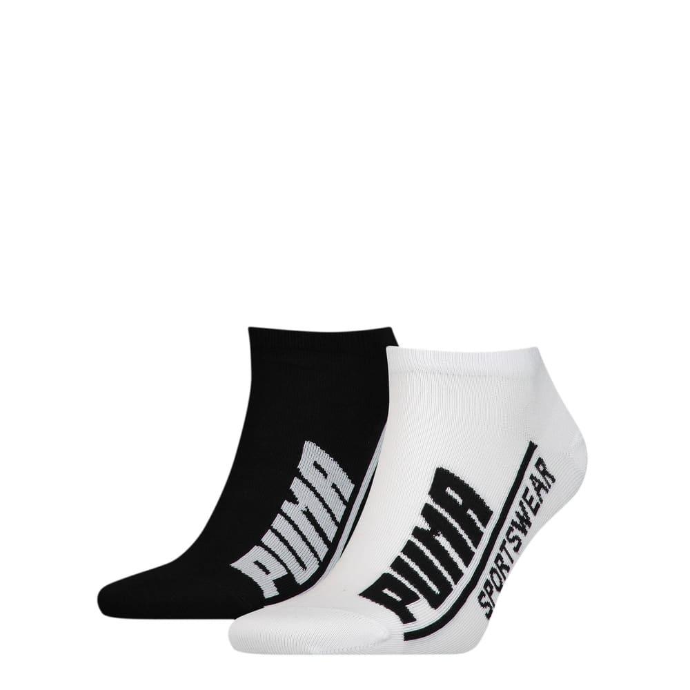 Görüntü Puma PUMA Logo Erkek Sneaker Çorap (2'li Paket) #1
