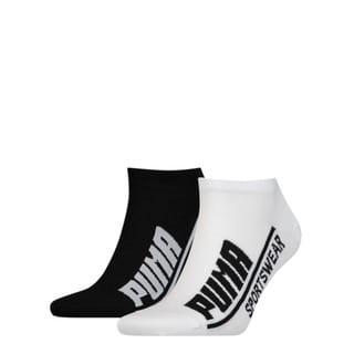 Görüntü Puma PUMA Logo Erkek Sneaker Çorap (2'li Paket)