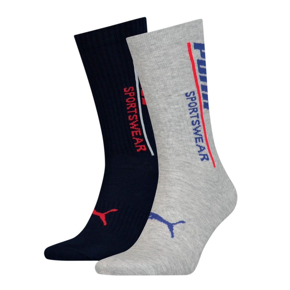 Изображение Puma Носки PUMA Men Logo Sock 2P #1