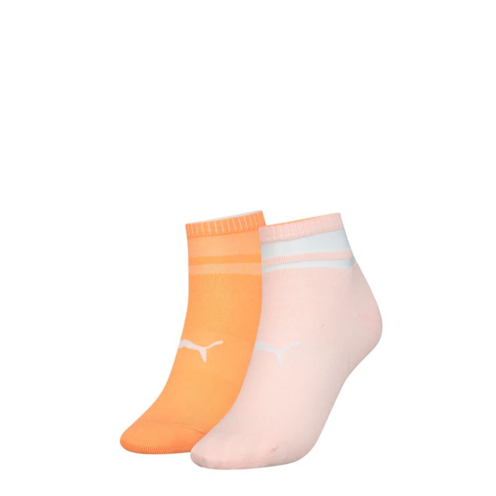 Görüntü Puma PUMA Structure Kadın Kısa Çorap (2'li Paket) #1