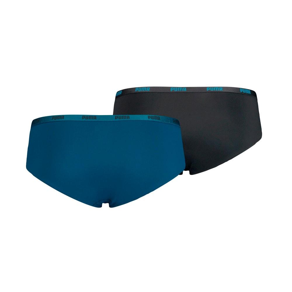 Зображення Puma Жіноча спідня білизна PUMA Women's Microfiber Hipster Underwear (2 Pack) #2