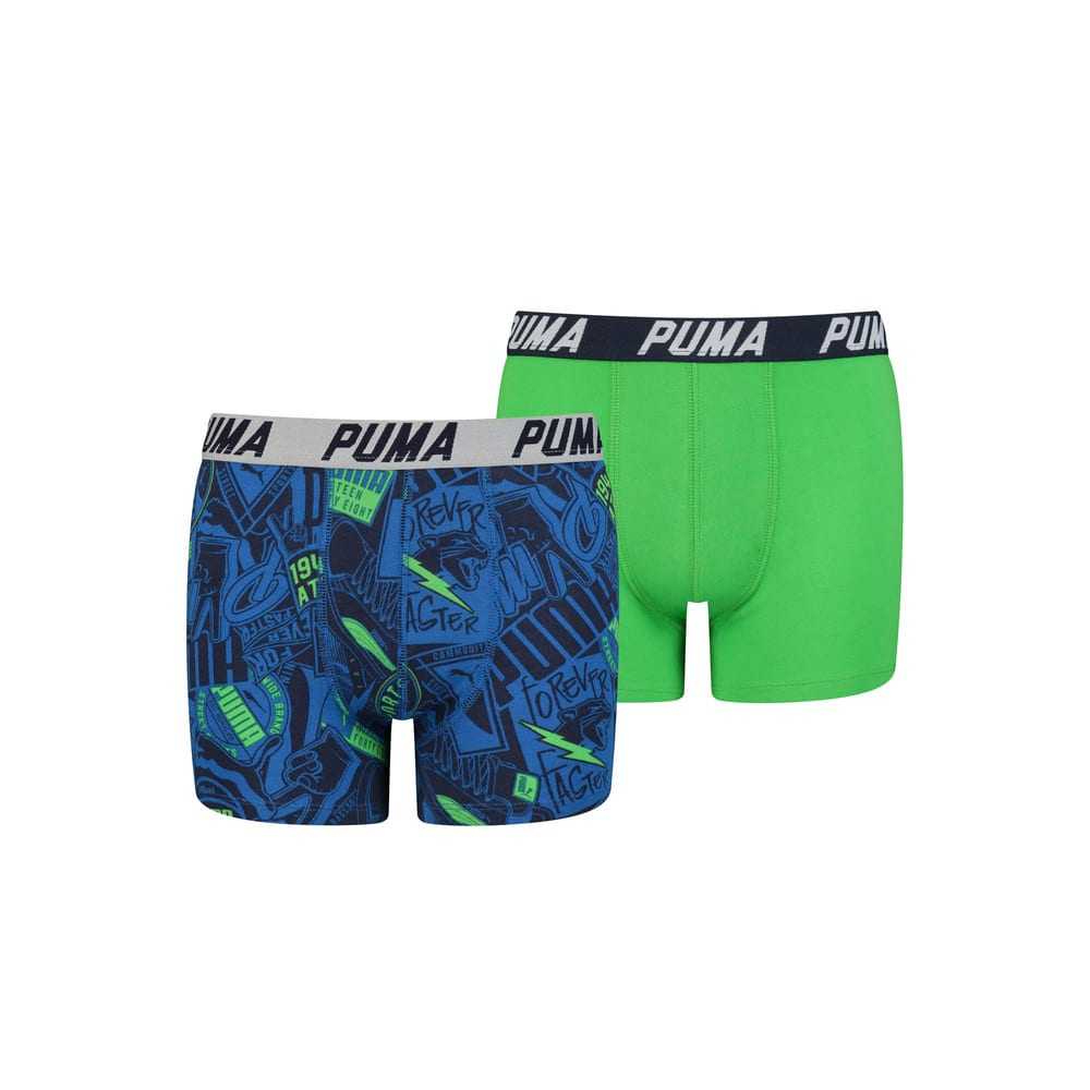Imagen PUMA Boxers PUMA All-over Print para niños (pack de 2) #1