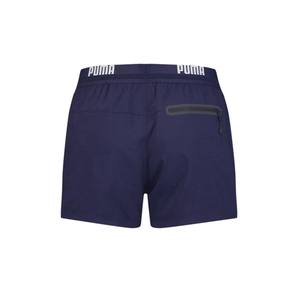 Зображення Puma Шорти для плавання PUMA Swim Men Logo Short Length Swim Shorts #2: navy
