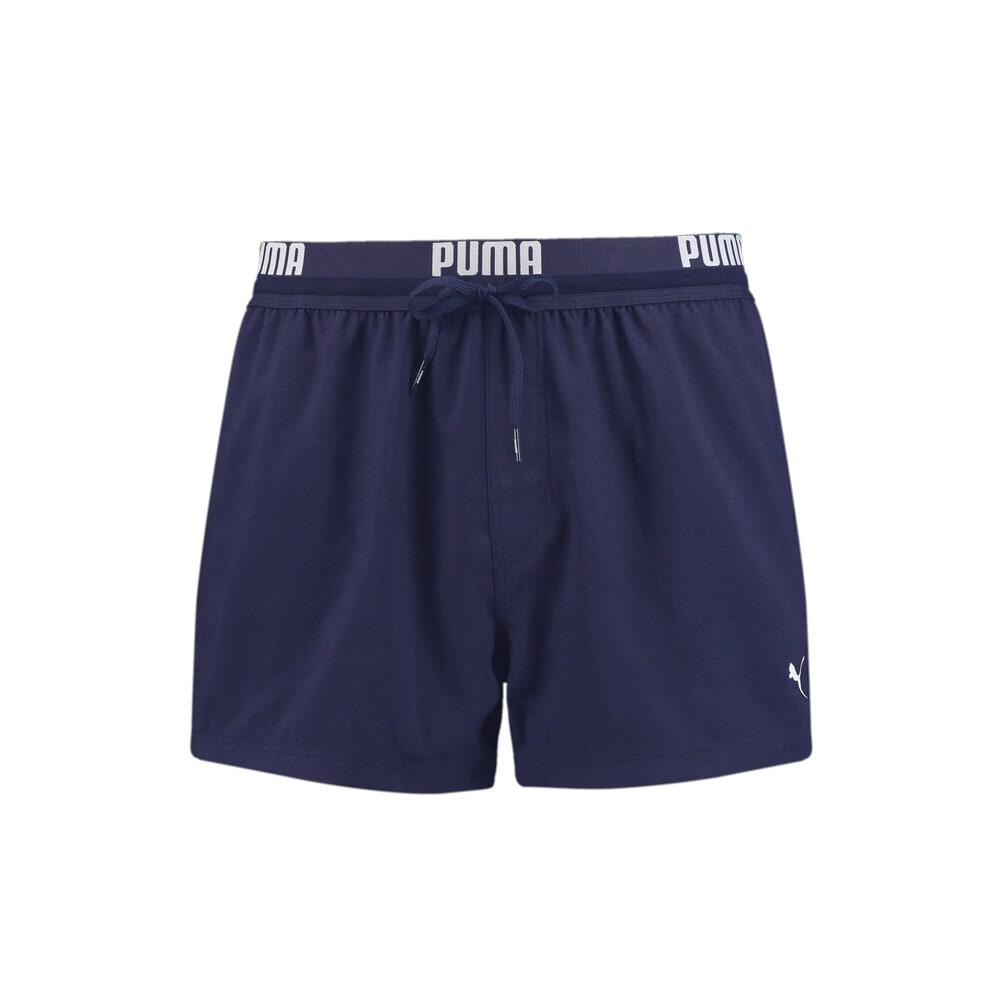 Зображення Puma Шорти для плавання PUMA Swim Men Logo Short Length Swim Shorts #1: navy