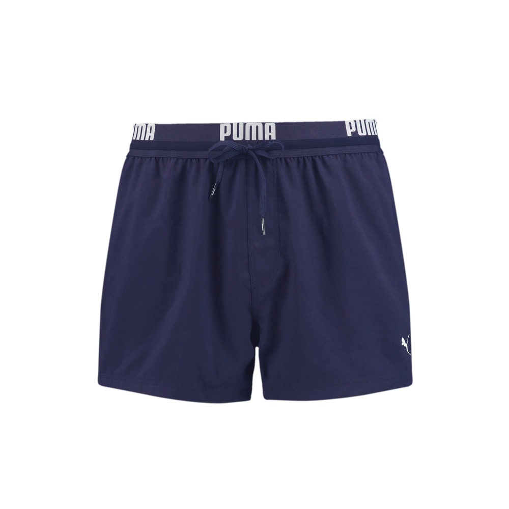 Image Puma Logo Men's Short Length Swimming Shorts #1