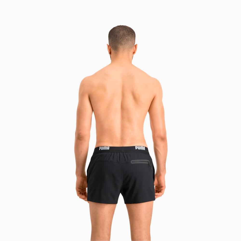 Зображення Puma Шорти для плавання PUMA Swim Men Logo Short Length Swim Shorts #2: black