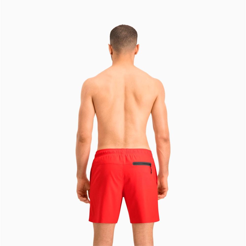 Изображение Puma Шорты для плавания PUMA Swim Men Medium Length #2: Red