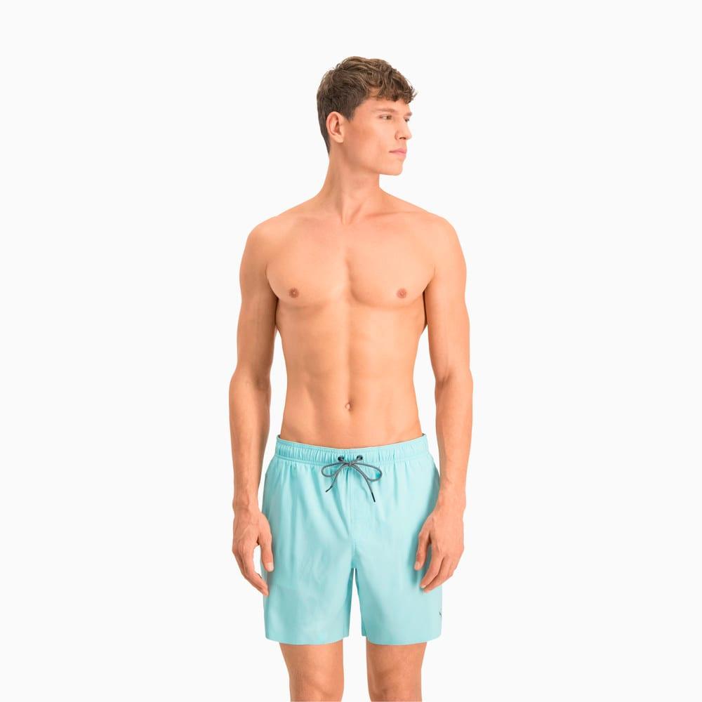 Изображение Puma Шорты для плавания PUMA Swim Men Medium Length #1: Angel Blue