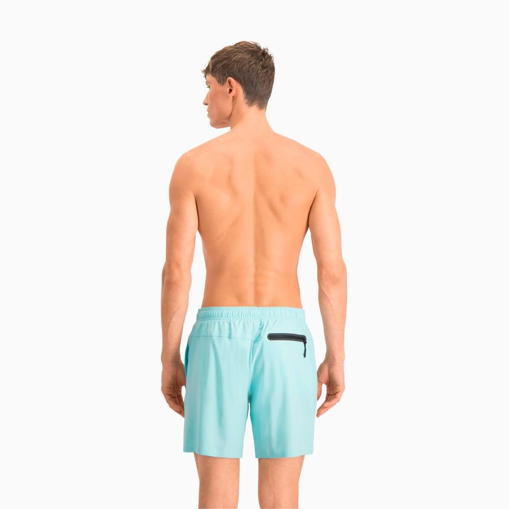Изображение Puma Шорты для плавания PUMA Swim Men Medium Length #2: Angel Blue