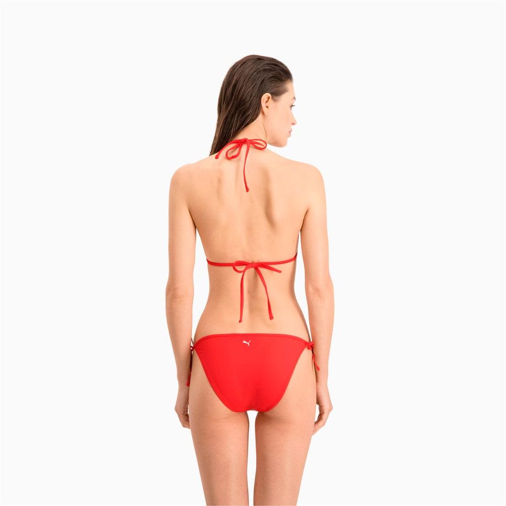 Зображення Puma Ліф для плавання PUMA Swim Women Triangle Bikini Top #2: Red