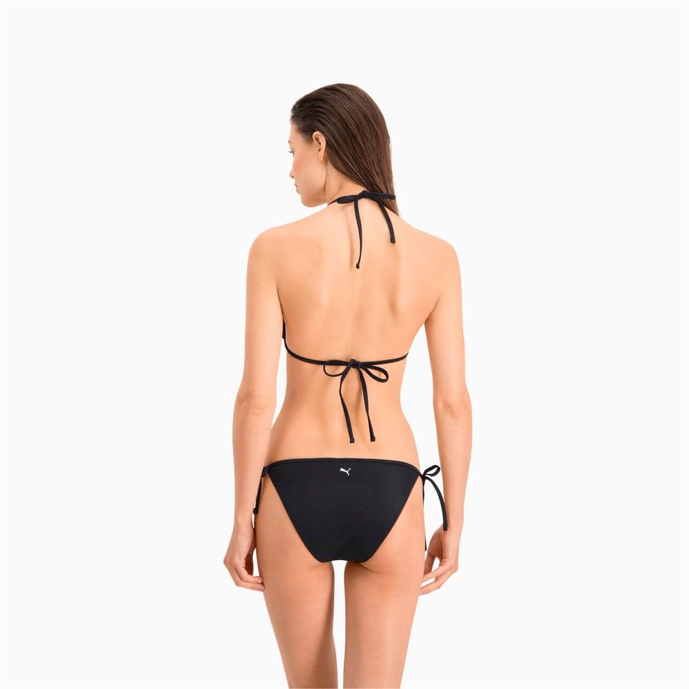 Изображение Puma Лиф для плавания PUMA Swim Women Triangle Bikini Top #2: black